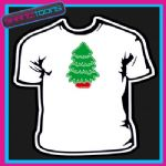 CHRISTMAS TREE TSHIRT CHILDRENS MENS & LADIES SIZES